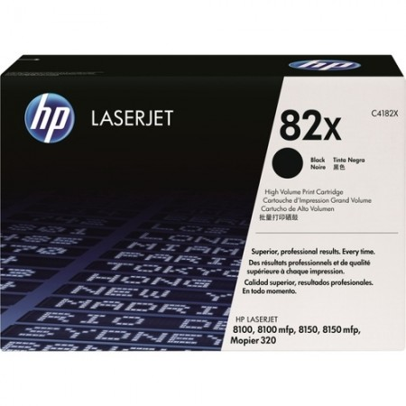 TONER HP N° 82X BLACK 20000 PAGES
