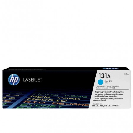 TONER HP N° 131A  LASERJET PRO 200 / M251 CYAN COLOR 1800 pages