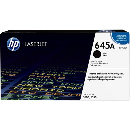 TONER HP N° 650A BLACK CP5520 13500 PAGES