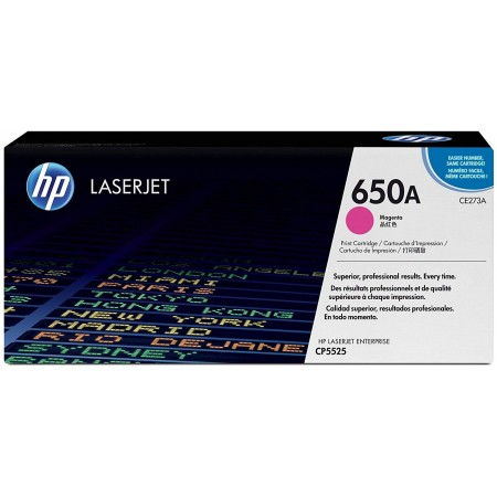 TONER HP N° 650A MAGENTA CP5520 15000 PAGES