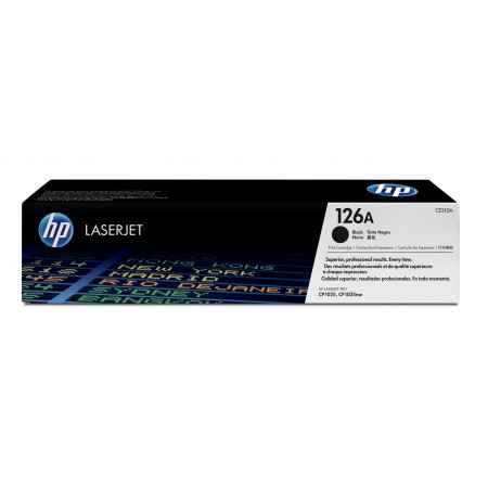 TONER HP N° 126A BLACK 1200 PAGES