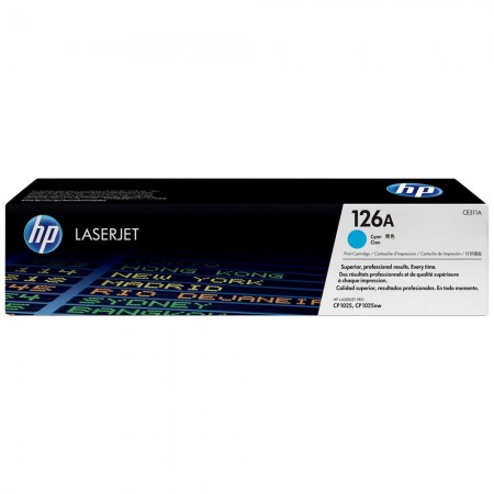 TONER HP N° 126 CYAN CP 1025 1000 PAGES
