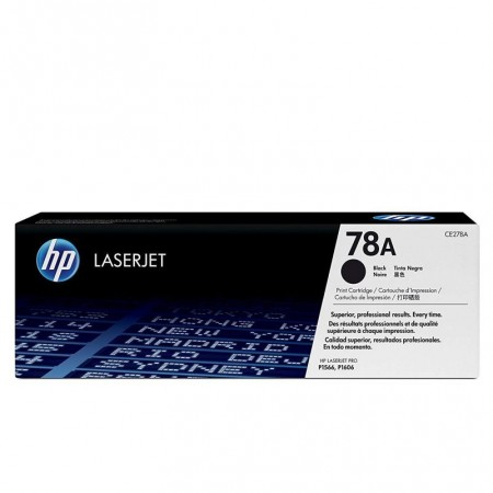 TONER HP N° 78A LASERJET P1566 BLACK COLOR 2100 pages