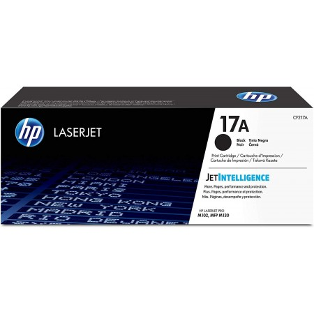 TONER HP N° 17A BLACK 1600 PAGES