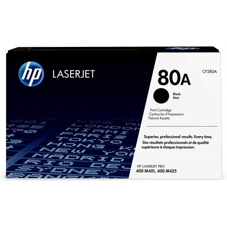 TONER HP N° 80A BLACK 2700 PAGES