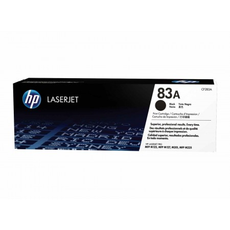 TONER HP N° 83A BLACK 1500 PAGES