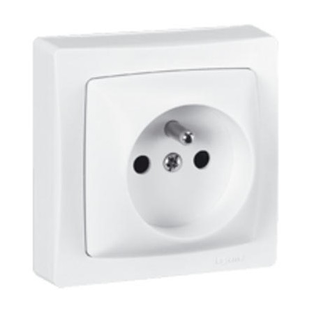 SOCKET 2P + E 16A 250V SURFACE LEGRAND