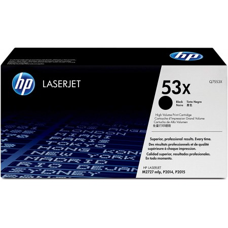 TONER HP N° 53X BLACK 7000 PAGES