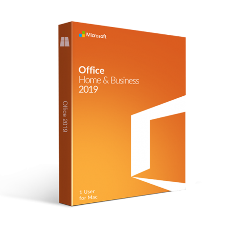 MICROSOFT OFFICE 2019 HOME AND BUSINESS 1 PC/MAC