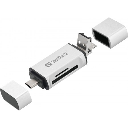 LECTEUR DE CARTE USB-C+USB US
