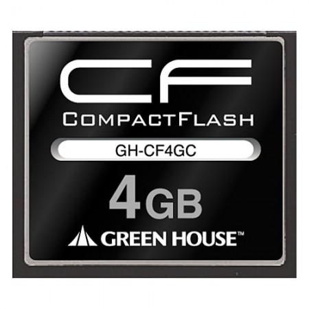 CARTE COMPACT FLASH 4G