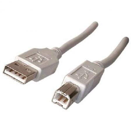 CORDON USB A-B POUR IMPRIMANTE 3m