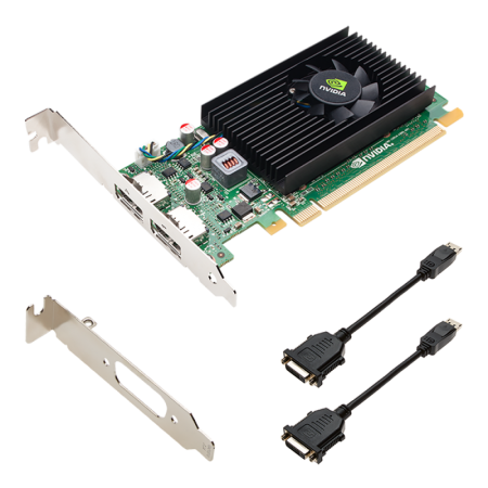 NVIDIA NVS 310 1GB PCI-exp X16 VIDEO CARD + ADAPT DisplayPort - DVI