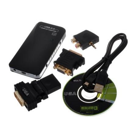 USB UGA ADAPTER (dvi hdmi vga audio)