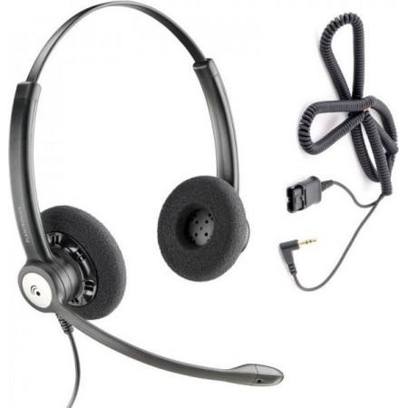 LOGITECH H340 BLACK USB MIC HEADPHONES