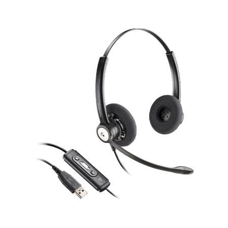 PLANTRONICS ENTERA USB Wired Headset
