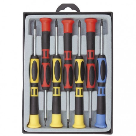 7-PIECE ELECTRONIC PRECISION SCREWDRIVER
