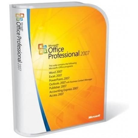 MICROSOFT OFFICE PRO 2007 KIT INSTAL