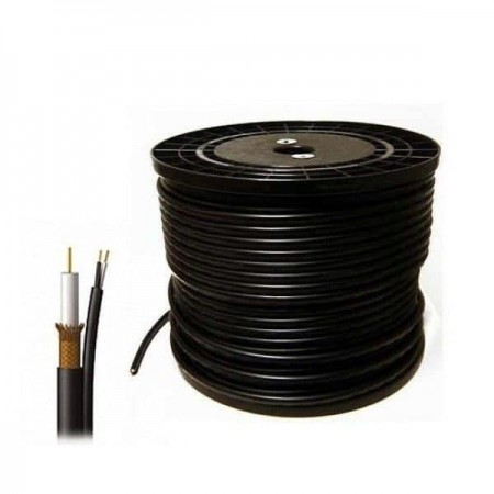 COAXIAL CCTV CABLE, 305 METER ROLL