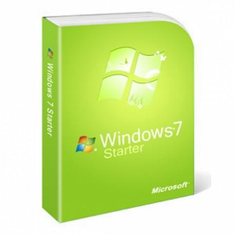 MICROSOFT WINDOWS 7 STARTER  SP1 32 BITS
