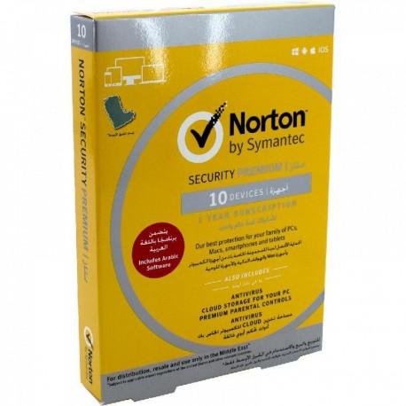 NORTON SECURITY PREMIUM 10 DEVICES