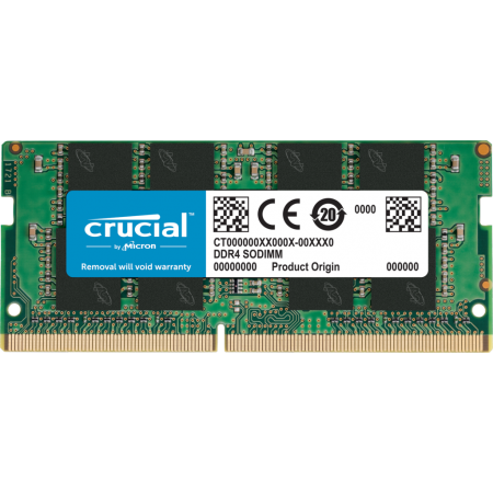 MEMOIRE 8GO PC4-19200 SODIMM CL17 CRUCIAL