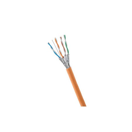 """CAT6 OUTDOOR RLX 305M BLACK """"ORANGE ELECTRIC"""" FTP NETWORK CABLE"""