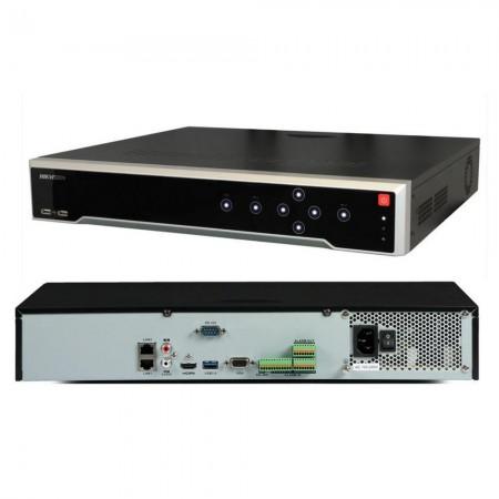 NVR  HIKVISION  32 CHANNEL 8 MP 4K 256/160  Mbps  4* HDD