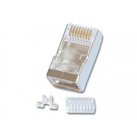 CONNECTOR RJ45 CAT6 STP MONOBRIN + GUIDE