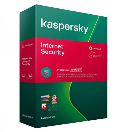 KASPERSKY INTERNET SECURITY 4 POSTES 1AN PROTECTION AVANCEE