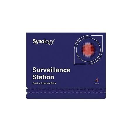 SYNOLOGY SURVEILLANCE STATION DEVICE LICENCE (PK4)
