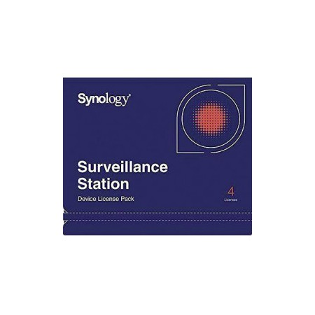 SYNOLOGY SURVEILLANCE STATION DEVICE LICENSE (PK4)