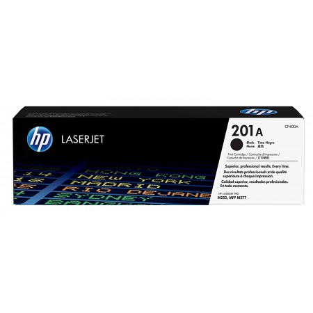 TONER HP N° 201A LASERJET PRO M252 / MFP M274/M277 BLACK COLOR 1500 pages