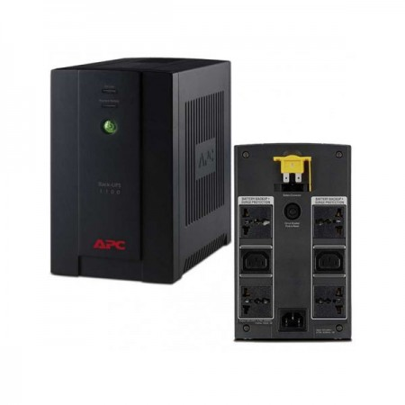 ONDULEUR APC 1100VA BACK UPS WITH AVR IEC 230V