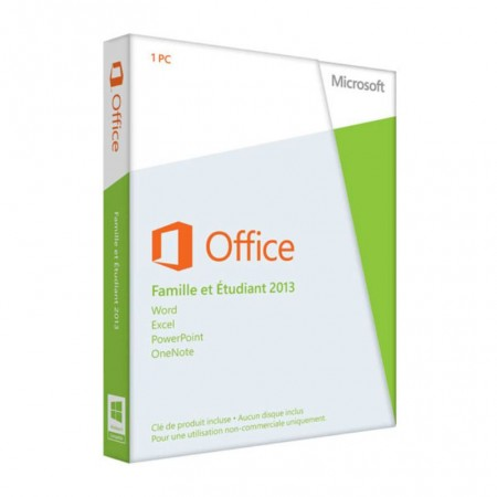 MICROSOFT OFFICE FAMILY AND STUDENT 2013 1PC