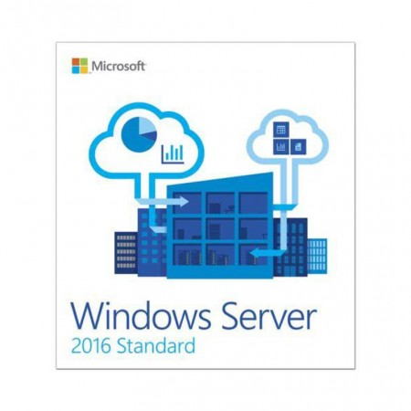 MICROSOFT WINDOWS SERVER STANDARD 2016 64BIT FR 1 PACK DSP OEI DVD 16 CORE