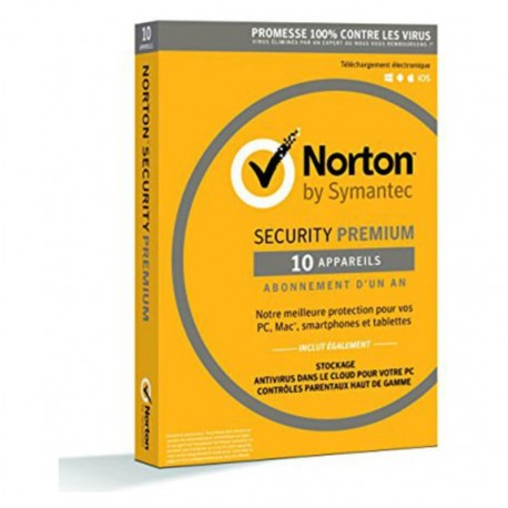 NORTON SECURITY PREMIUM 3.0 25GB 1 USER 10 DEVICES 1AN
