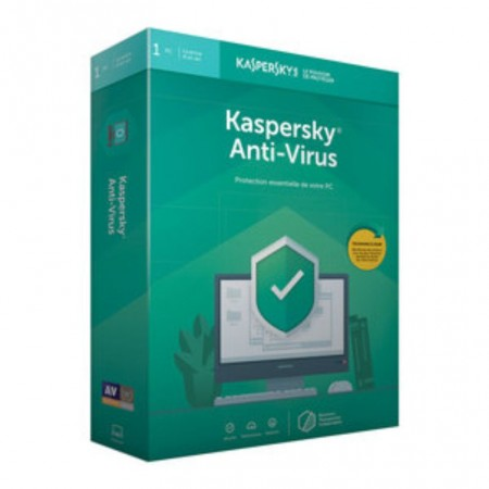 KASPERSKY ANTIVIRUS 2019 1+1 PC
