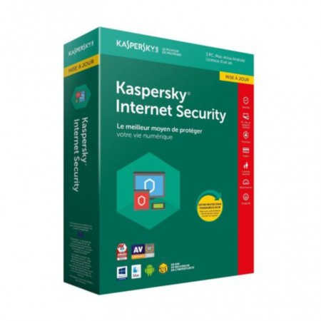 KASPERSKY INTERNET SECURITY 2019 3PCS + 1