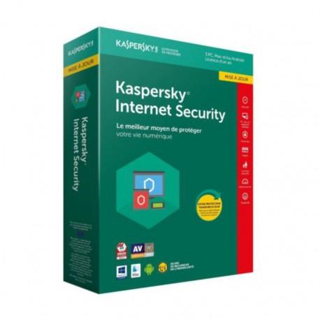 KASPERSKY INTERNET SECURITY 2019 3PCS + 1