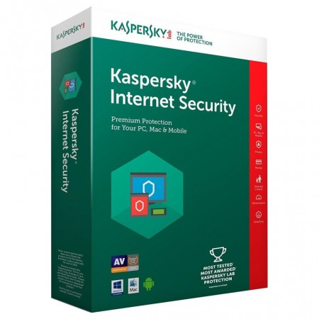 KASPERSKY INTERNET SECURITY 2019 1+1PC