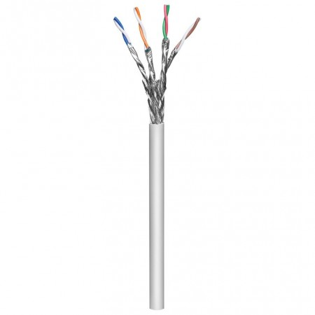 CABLE RESEAU MICROCONNECT FTP CAT6A  4P INDOOR   MOYENNE SECTION   305M