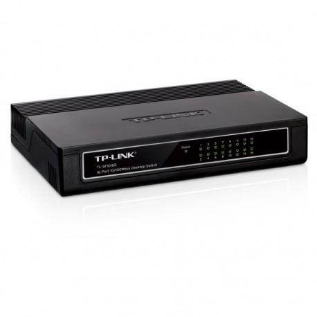 SWICTH TP-LINK TL-SF1016D 10/100 16PORTS