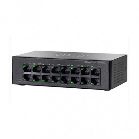SWITCH  CISCO SF110D-16-EU  10/100  16PORTS