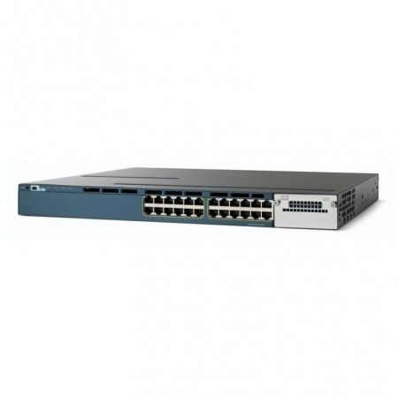 SWITCH  CISCO  WS-3560X-24T-S CATALYST 24PORTS  Gigabits + 4 PORTS SFP  LAN BASE