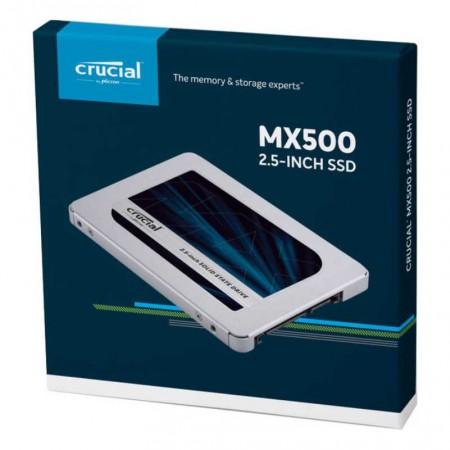 """DISQUE DUR 250GB SSD 2.5"""" SATA 6Gb/s CRUCIAL MX500"""