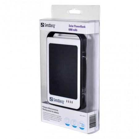 POWER BANK SOLAIRE 6000MAH