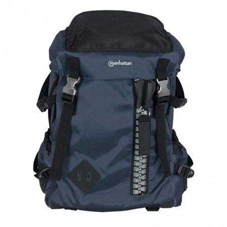 "SAC A DOS MANHATTAN ZIPPACK BACKPACK 15.6"" BLACK"