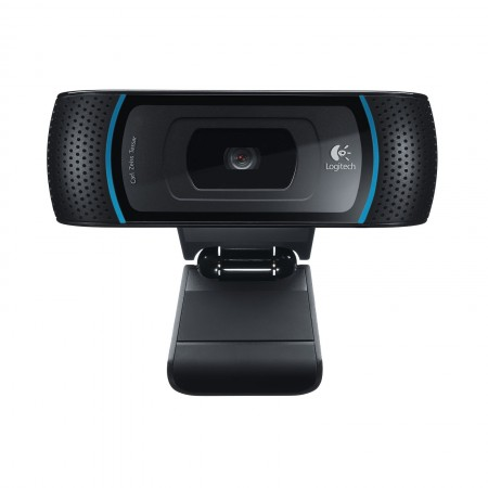 WEBCAM LOGITECH B910 HD COULEUR 5 MP 1280 x 720  AUDIO USB 2.0 NOIR
