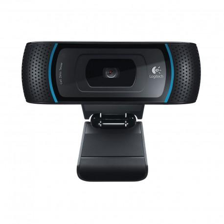 WEBCAM LOGITECH B910 HD COULEUR 5 MP 1280 x 720  AUDIO USB 2.0 NOIR